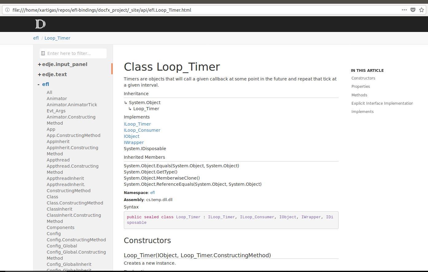 ⚓ T7424 Add support for DocFx to generate the C# API docs